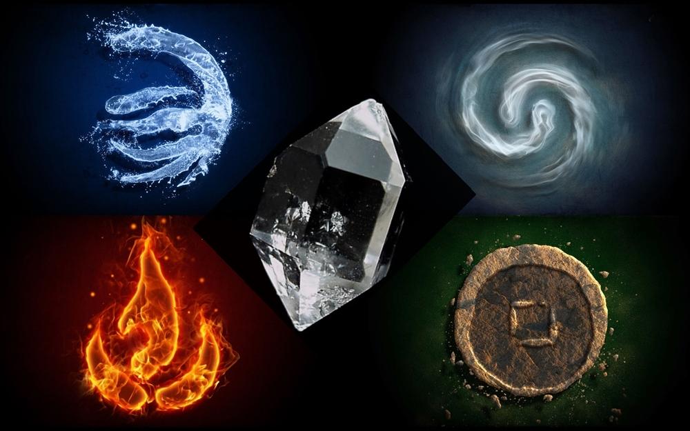 Őselemek és kristályok – tanfolyam