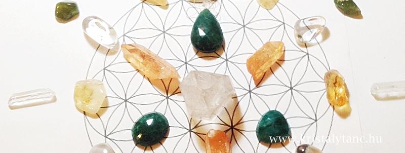 Bőség és gazdagság kristályai